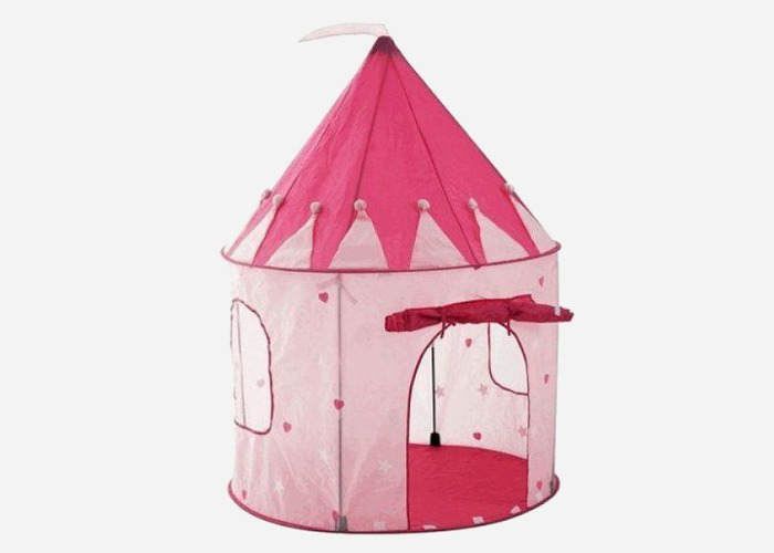 Princess castle play tent - cute birthday gift idea for 4 year old girls