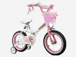 Princess pink bike - gift idea for a 4 year old girl