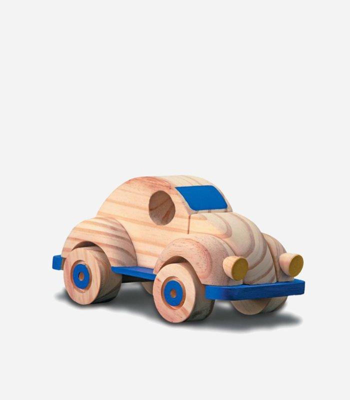 Running beetle car - eco-friendly handmade wooden toy for kids | Featured on KidsLoveThisStuff.com