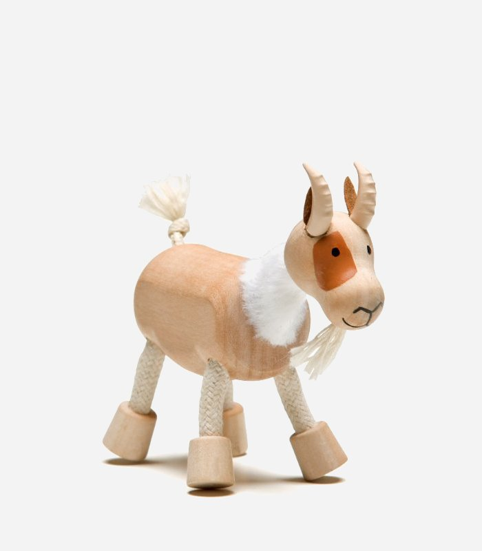 Wooden goat - eco-friendly handmade wooden toys for kids | KidsLoveThisStuff.com