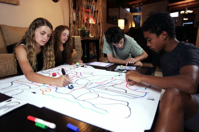 The Ozobot Smart Gaming Robot: The next generation of robotic gaming tech that sets out to teach youngsters the fundamentals of programming in an interactive and fun gaming environment.