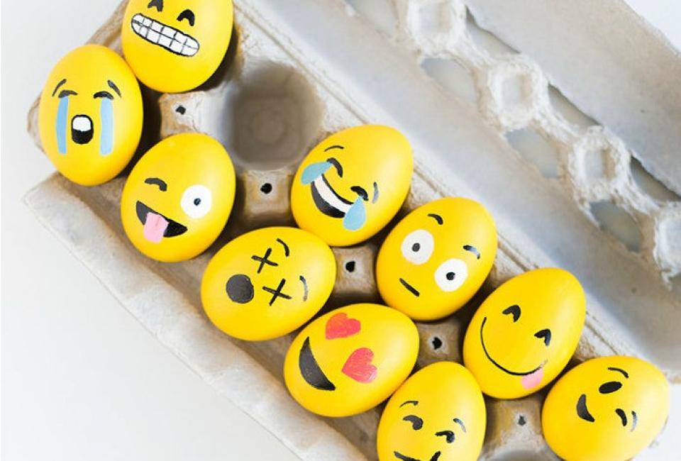 Emoji Easter Craft Idea