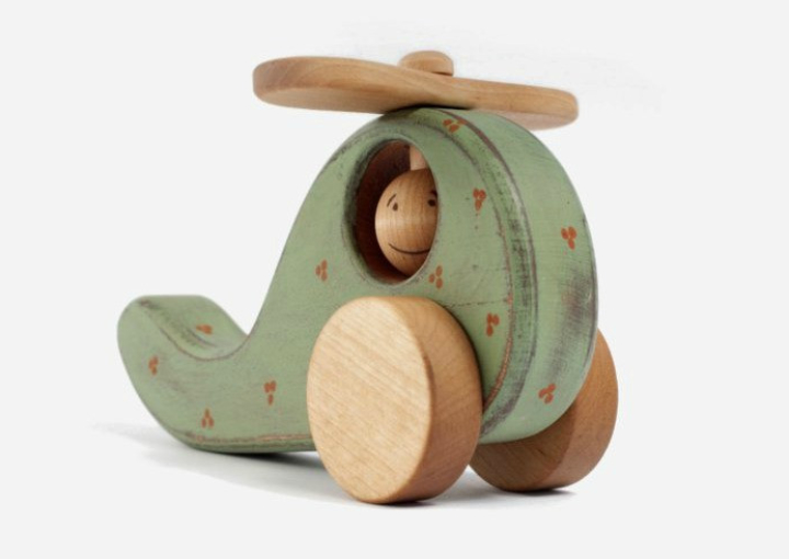 Handmade wooden toy for kids