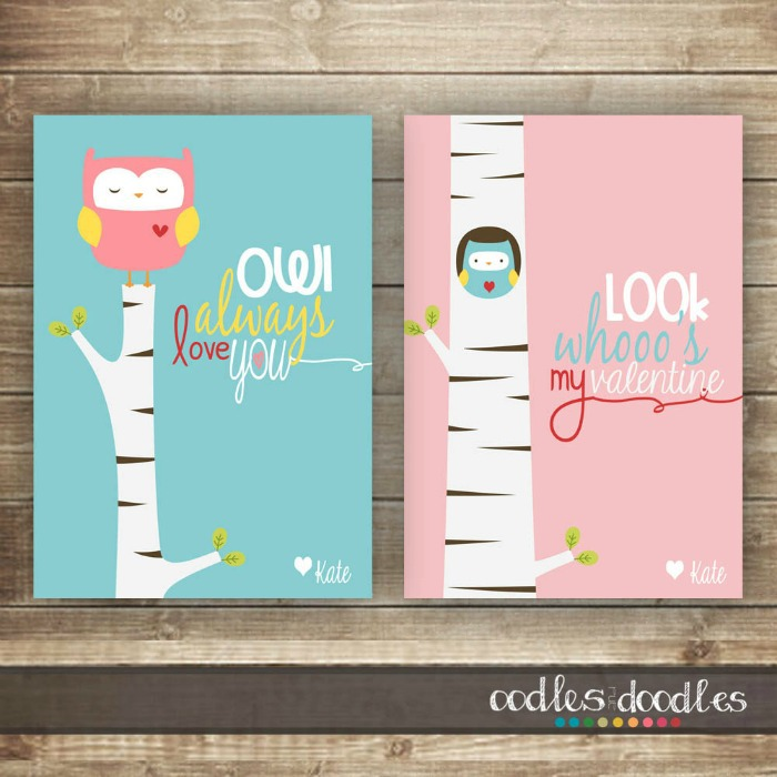 The Cutest Printable Valentineu0027s Cards For #kids Share With Their  Classmates.