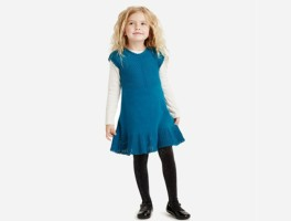 Sweater dress for girls-FP2