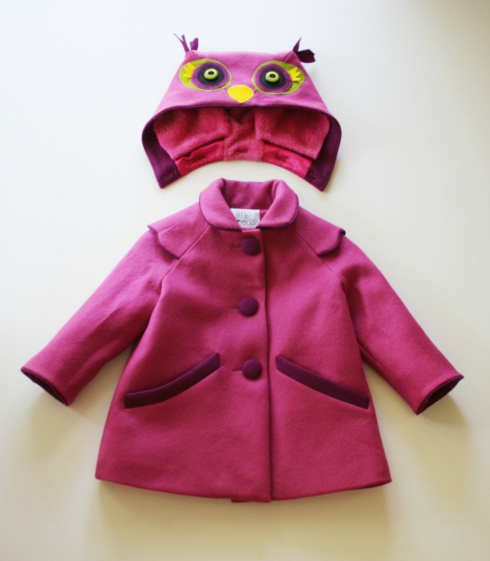 Know someone who would be tickled pink by this owl inspired toddler coat? Click through to see the other coats for toddlers.