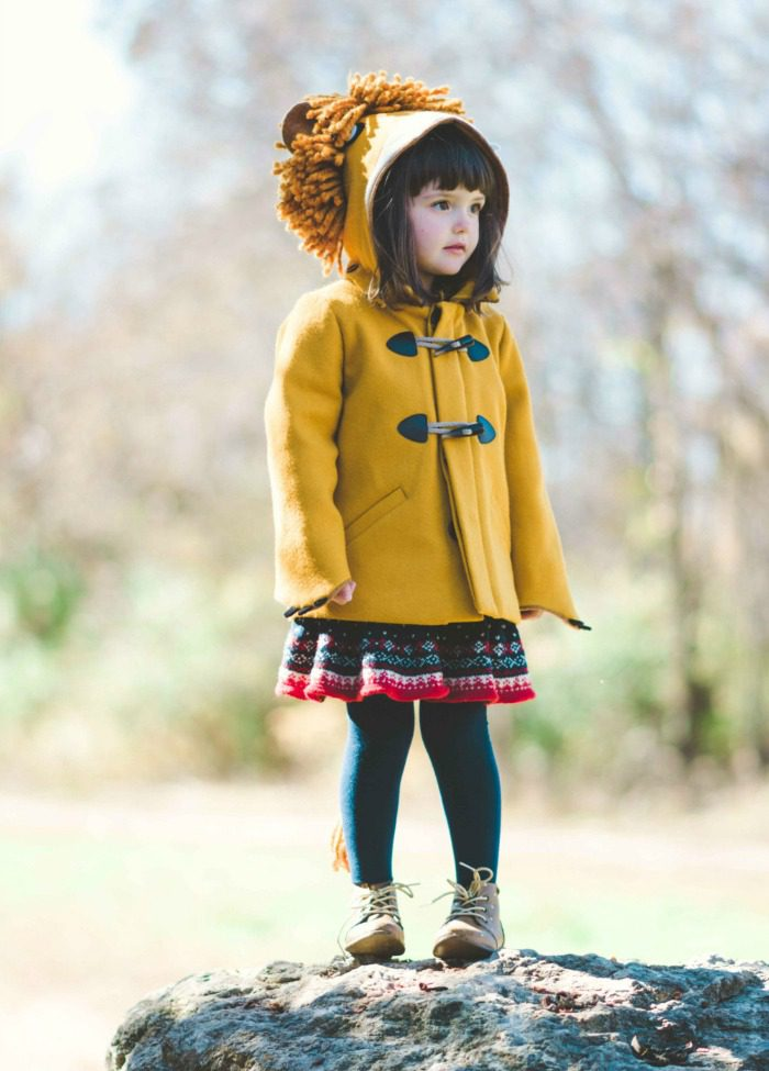O.M.G these playful coats for toddlers and preschoolers are super duper cute.