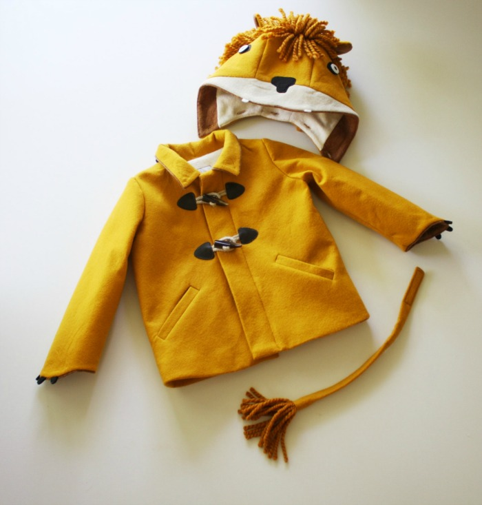 O.M.G these playful coats for toddlers and preschoolers are super cute. Here's a lion inspired coat for toddlers who are wild at heart.