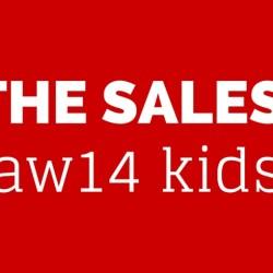 aw14 kidswear sales - FP