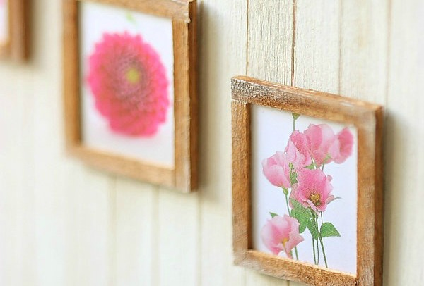 miniature dollhouse accessories-wall art 4