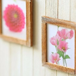 miniature dollhouse accessories-wall art FP