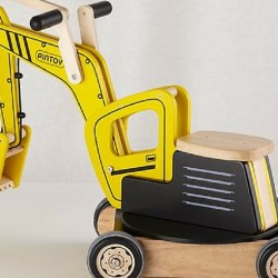 Now Here's a Ride on Excavator Toy Little Kids Will Really Dig