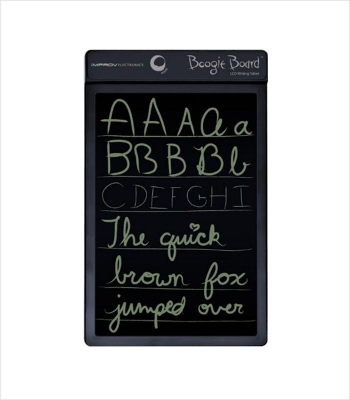 The Boogie Board - a tablet that you can write on! Cool electronic gift idea for an eleven year old boy.