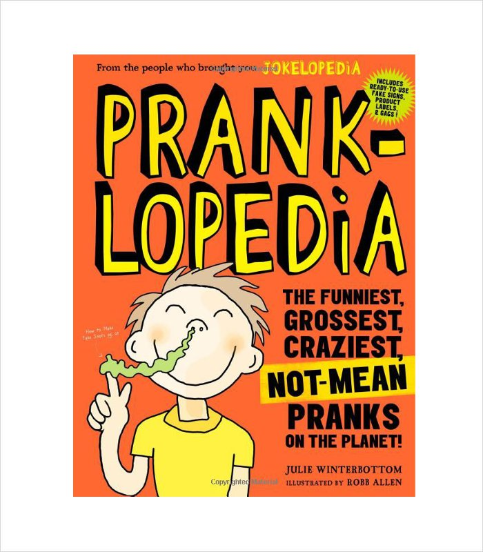 Prankopedia - a great gag gift for an 11 year old boy