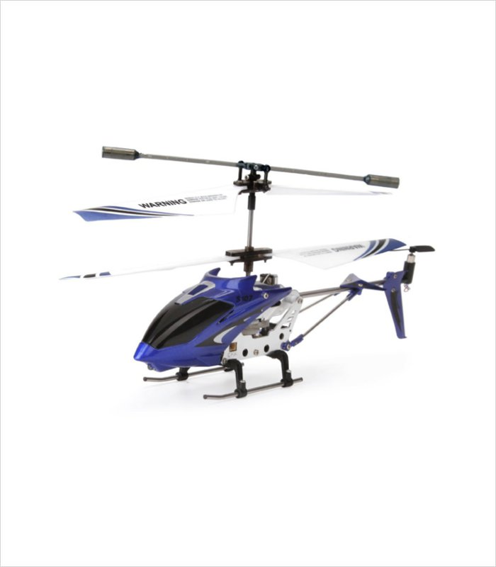 The Syma s107g 3.5 channel helicopter. One Cool remote control present for an 11 year old