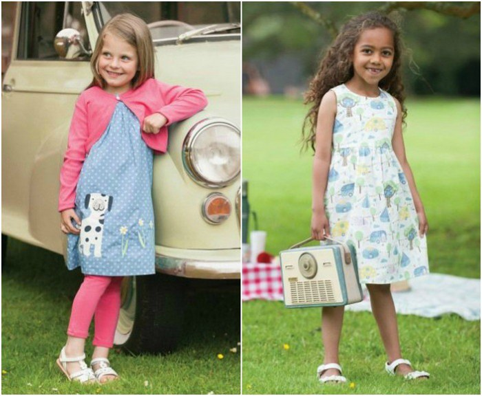 New Spring Clothes for Girls: A Stylish and Ethical SS15 Collection From Frugi | kidslovethisstuff.com