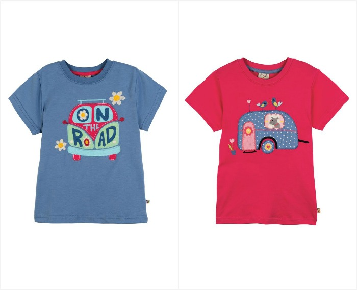 Lightweight, soft and stretchy jersey tees make a great addition to a girls spring time wardrobe | kidslovethisstuff.com