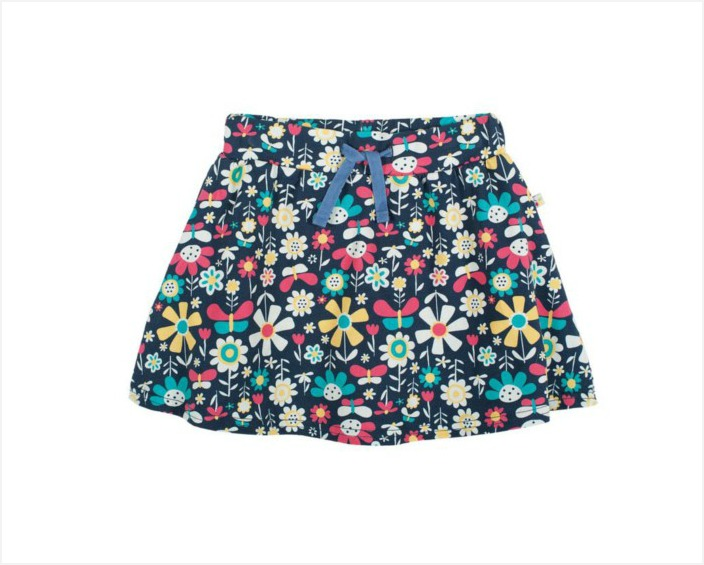 Is it a nice spring skirt or a pair of shorts? Actually, it's both. Swing by to check out the other SS15 springtime clothes for girls | kidslovethisstuff.com