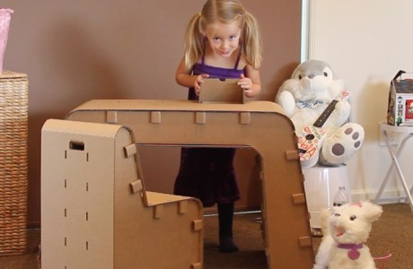 cardboard furniture for kids - fp