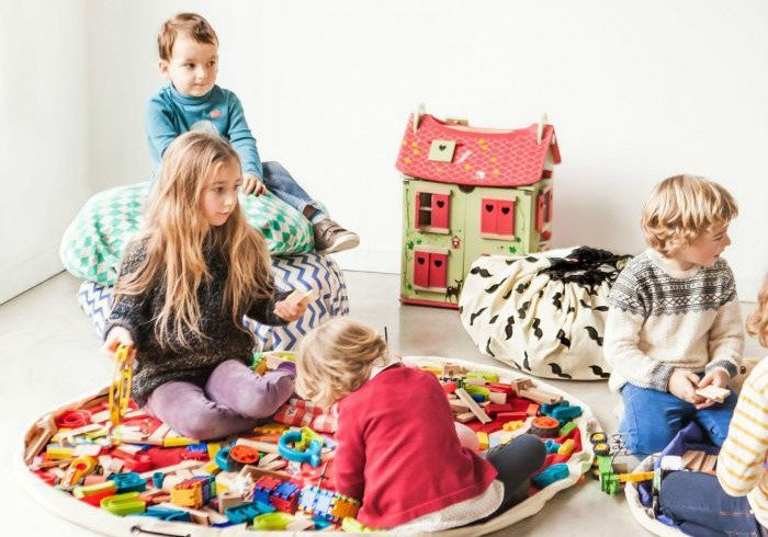 kids play mats that make it easier to cleanup the toy mess. Black Bedroom Furniture Sets. Home Design Ideas