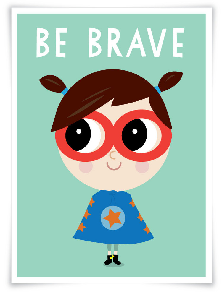 Superhero wall prints to inspire tough little girls | kidslovethisstuff.com