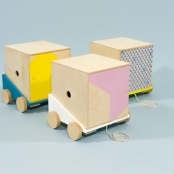 Cargo Line: Colorful, Functional Kids Furniture by Studio Delle Alpi