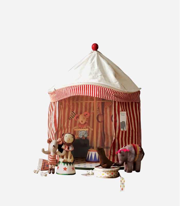 An adorable collection of circus toys with oodles of whimsical charm. Bound to be popular & A Mini Circus Collection With Oodles of Charm
