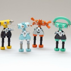 OFFBITS Kits: Transforming Household Junk into Cool Geeky Little Robots
