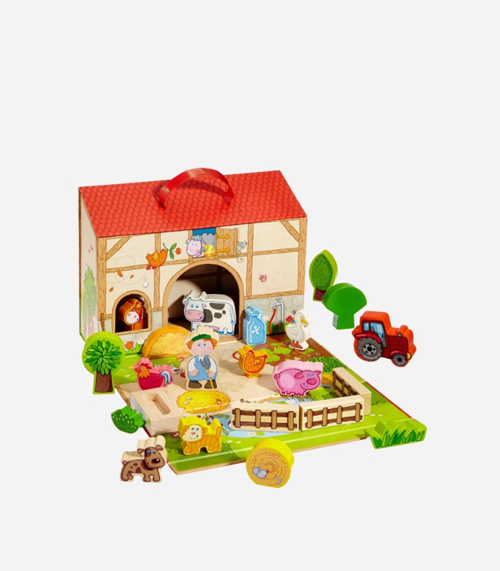 Best Wooden Toys For 1 Year Old Play World Farm Set Kids Love