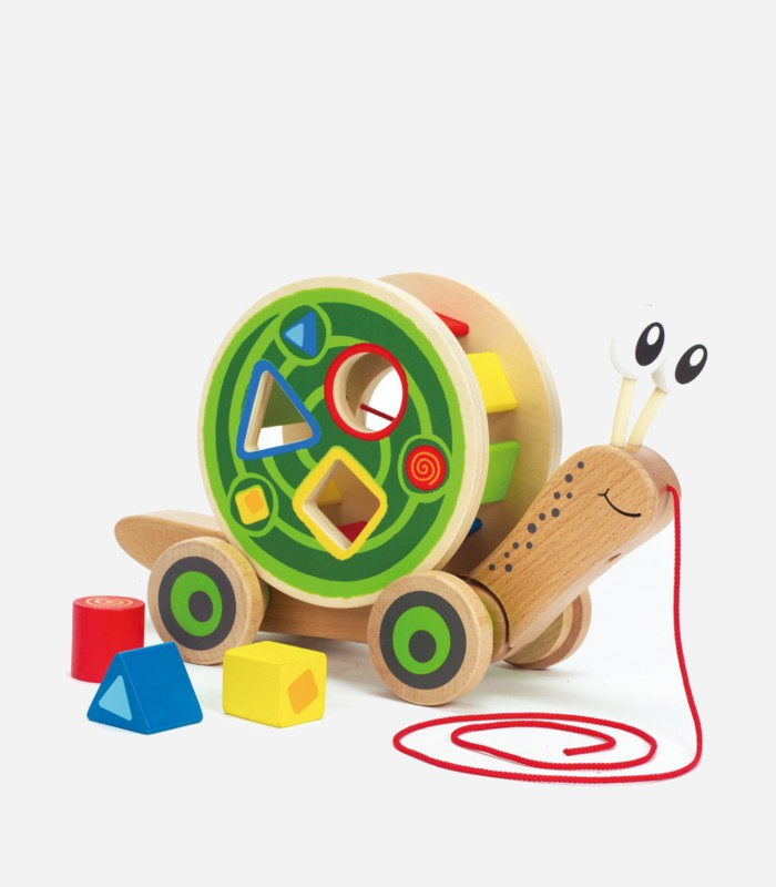 Best Wooden Toys For 1 Year Old Walk Along Snail Toy Kids Love