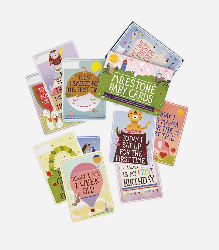 Gift Sets for Babies: Recording those adorable baby moments is even more fun with a set of milestone cards.