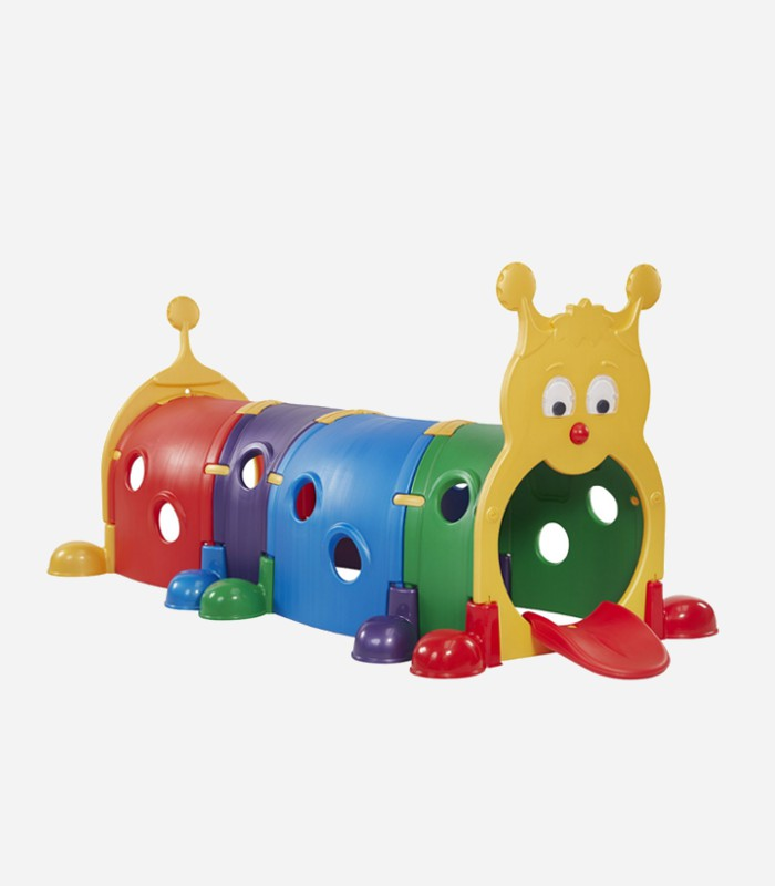 Nothing like a big brightly colored plastic caterpillar to climb and crawl all over  | Climbing toys for toddlers  and preschoolers