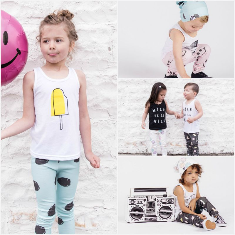 Etsy Love: Expect to find unisex leggings and tees with stylish prints at Lot801 | Hipster Kid Clothes: 7 Etsy Shops Making Stylish Garms for Little People