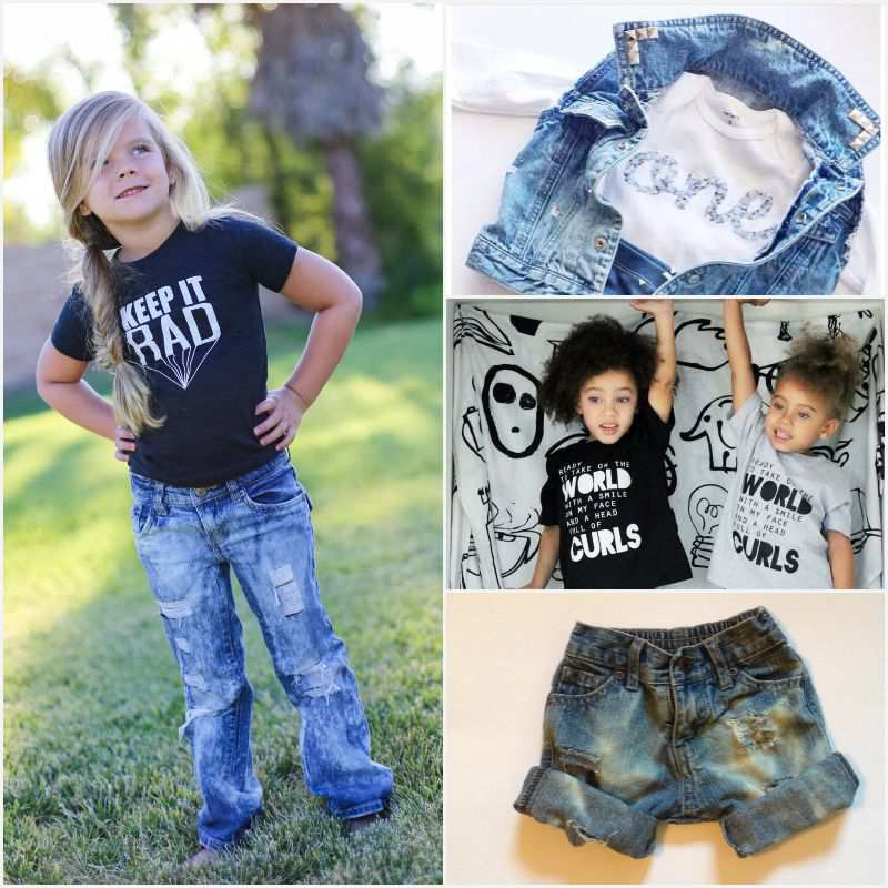 Etsy Love: Curly Qs Counter are creating cooler than cool hipster kid clothes that fashion conscious kids (and their parents) will appreciate.