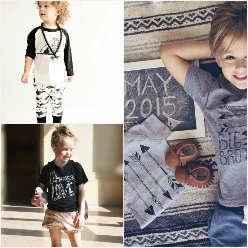 Etsy Love: Vicarious Clothing are creating cooler than cool hipster kid clothes that fashion conscious kids (and their parents) will appreciate.