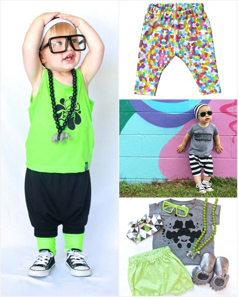 Etsy Love: Whipper Snappers have got this hipster kid thing down | 7 Etsy Shops Making Stylish Garms for Little People