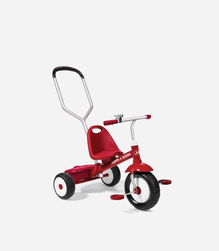 ride on toys for toddlers - radio flyer deluxe steer and stroll trike | Best Ride on Toys for Toddlers