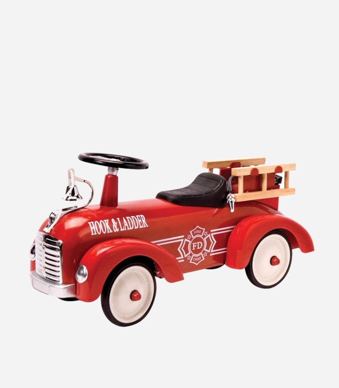 Which kid wouldn't love a big, bright red fire truck like this one by Schylling? | Top Toddler Ride on Toys