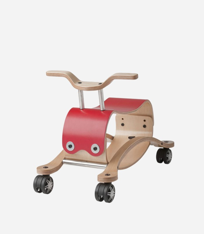 The Wishbone Flip 2-in-1 ride on is not only well designed and beautifully crafted | Best Ride on Toys for Toddlers