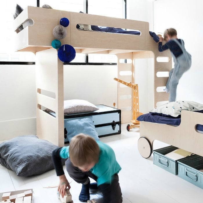 This bunk, is not just a bunk| Stylish kids beds by Rafa Kids - the bunk bed