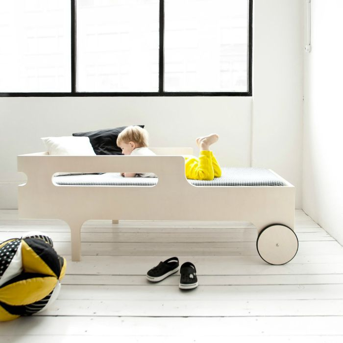 How much easier would it be, getting the kids to go to bed in this? | Stylish kids beds by Rafa Kids - the toddler bed