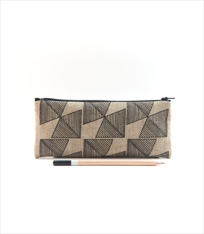 Geometric pencil case | Cool Back to School Gift for Kids