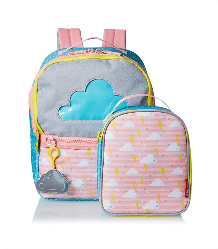 If you're prone to forgetting to pack the kid's lunches (or they're prone to losing them), these new Skip Hop Forget Me Not backpacks are just for you