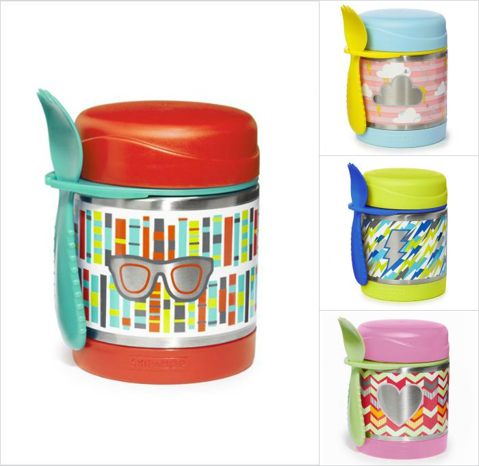 Skip Hop Forget Me Not food containers: Total convenience in a pretty looking package