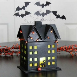 This DIY Haunted House Will Give Off an Eerie Glow for Fright Night