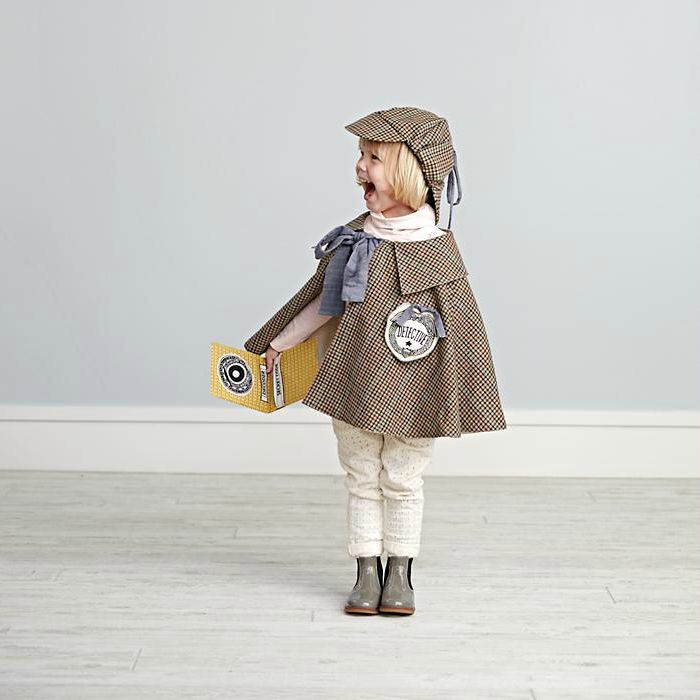 Dress up clothes for kids: This detective costume is classic Halloween fodder, but it's also great for year round play.