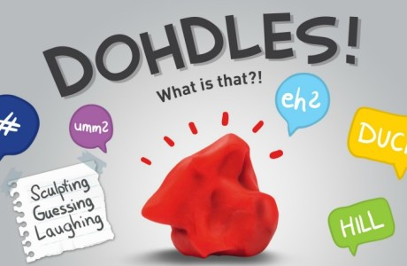 DOHDLES! The Party Game That Makes Riddles from Sculpting Clay