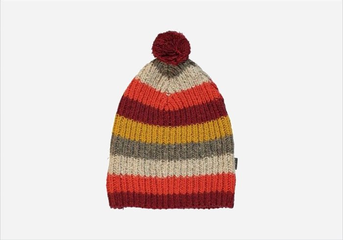 Gift ideas for 10 year olds - Doug striped pom pom hat