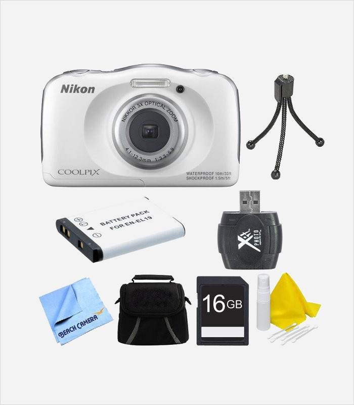 Gift Ideas For 10 Year Olds Nikon Coolpix S33 Camera Bundle Cool Old Boy Lamoureph