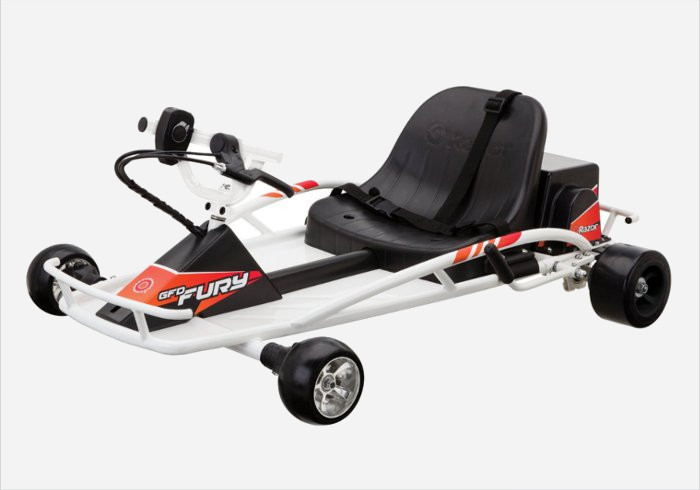 Gift ideas for 10 year olds - Razor ground Force Drifter Fury ride-on